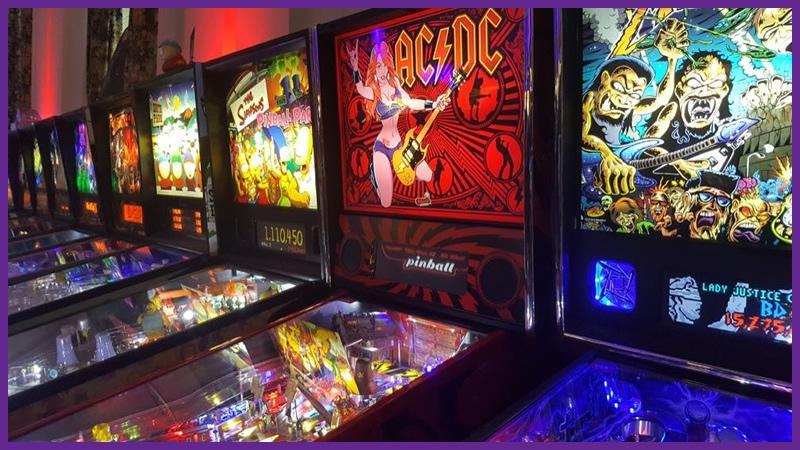 Morristown Game Vault Pinball Machines